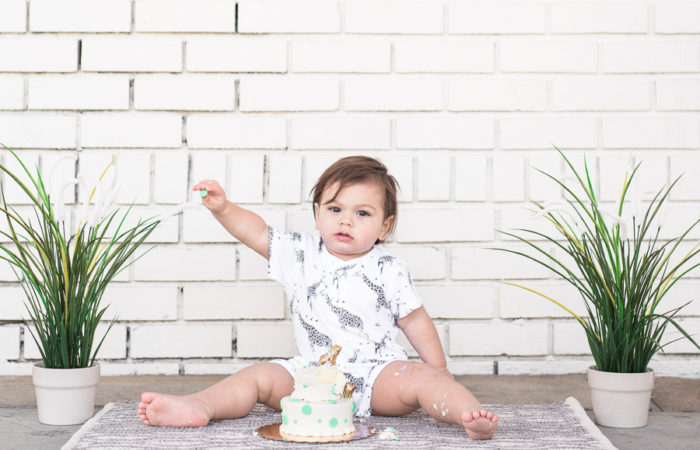 Thomas One Year Cake Smash | Roseville, Ca