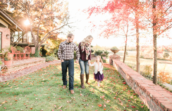 Peterson Family Session | Maple Rock Gardens, Newcastle